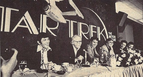 spaceleech:  Press conference for Star Trek The Motion Picture. Starlog magazine, Japanese edition, August 1979.