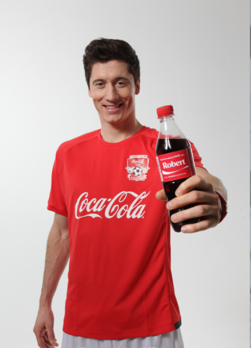 Robert Lewandowski for Coca-Cola Cup Polska (x)