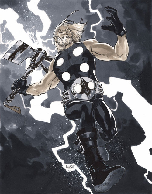 Ultimate Thor - London Super Comic Con 2013 Pre-Show Commission.