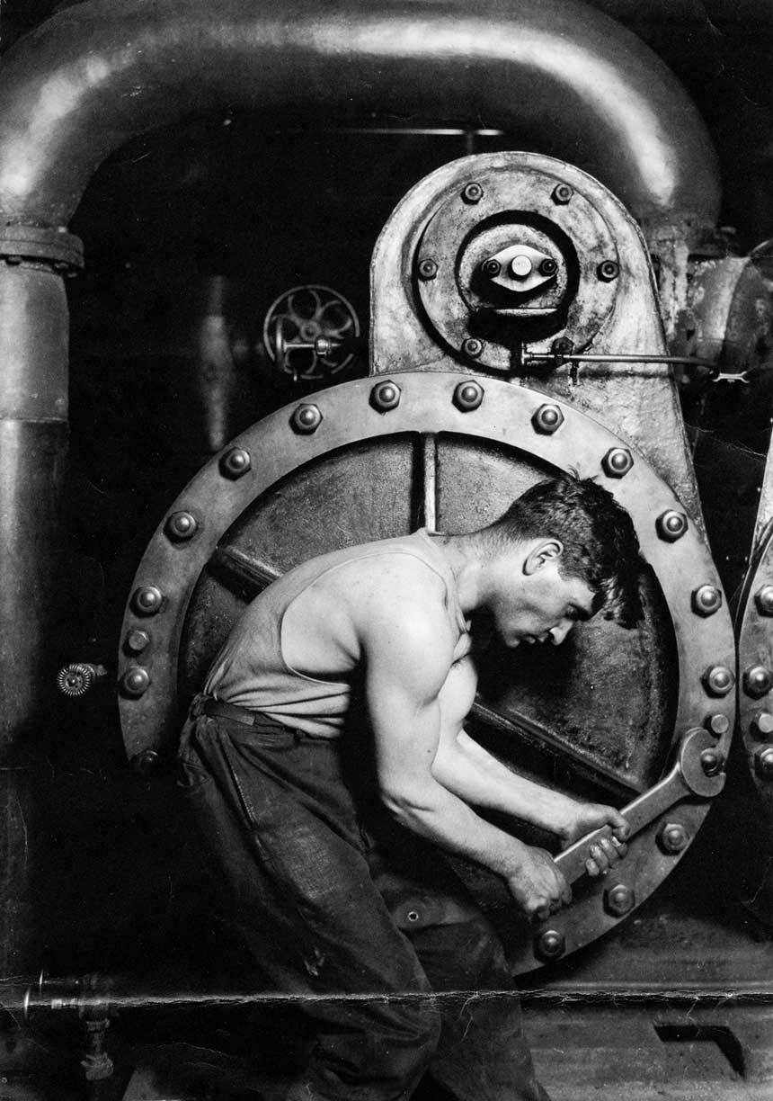 Powerhouse mechanic, location unknown.