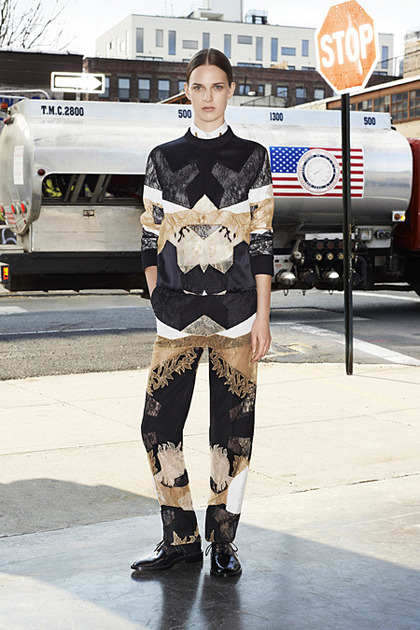 Ashleigh Good for Givenchy Pre-Fall 2013