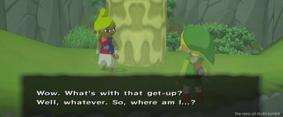 the-lens-of-truth:  MY FIRST WINDWAKER SCREENCAP AAAAAAAAASDFGHJKL Its kind of hard to do them so bE THANKFUL