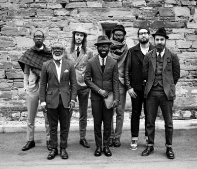 The members of the COAL project, at Pitti Uomo 83, Florence 2013. Picture David Pattinson
