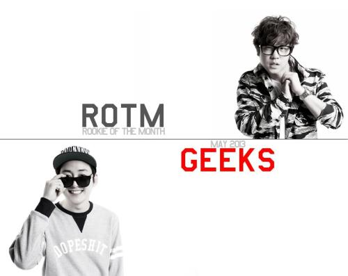 HIPHOPPLAYA ROOKIE OF THE MONTH : 2013.5긱스가 HIPHOPPLAYA 에서 ROOKIE OF THE MONTH에 선정되었습니다. 감사합니다. http://www.hiphopplaya.com/magazine/11170 [Trans] HIPHOPPLAYA ROOKIE OF THE MONTH: 2013.5 Geeks has been selected as ROOKIE OF THE MONTH of HIPHOPPLAYA . Thank you.