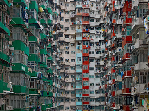 christurkleton:  ridingwithstrangers:  Architectural Density in Hong Kong With seven million people, Hong Kong is the 4th most densely populated places in the world. However, plain numbers never tell the full story. In his 'Architecture of Density' photo series, German photographer Michael Wolf explores the jaw-dropping urban landscapes of Hong Kong. He rids his photographs of any context, removing any sky or horizon line from the frame and flattening the space until it becomes a relentless abstraction of urban expansion, with no escape for the viewer's eye. Infinite and haunting. Editor's Note: Co-signed.  this is making me feel so uncomfortable