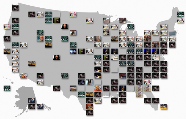 YouTube Trends map shows most popular videos by region I don't know about you, but when I go to YouTube, I check my subscriptions and then look at what videos are currently popular. Because you know, it's important to stay up to date on the most current news about kittens, people getting caught doing weird things, and movie trailers. The YouTube Trends Map is another way to see what's popular, but from a geographic and demographic point of view.