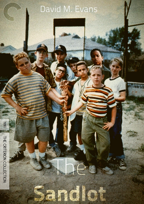 brokentreeproductions:  The Sandlot Criterion Collection   Why is this only a FAKE Criterion?