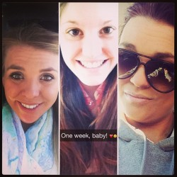 One week until I am reunited with my twins! #cantwait #excited #sunshine #tanning #drinks #vodka #icecream #pizza