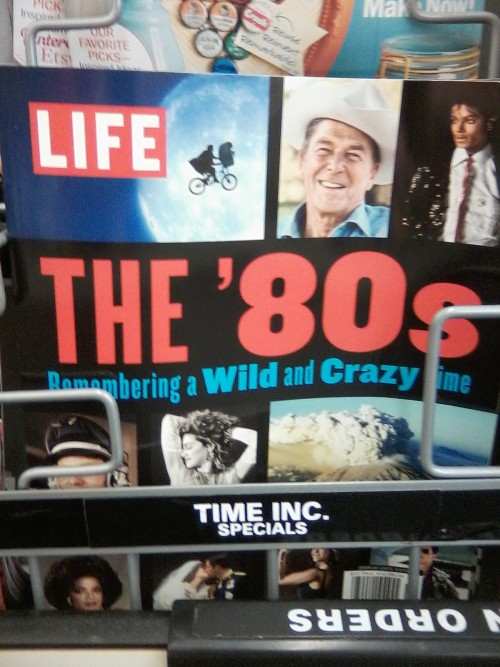 "I'm going to change the title of my book from ""thirtynothing"" to ""THE '80s: Remembering a Wild and Crazy Time."""