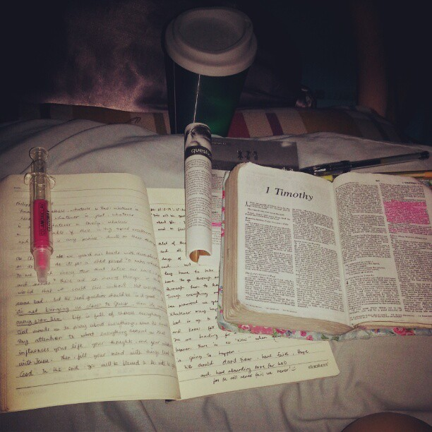 Always a great way to start your day ;) #devoted #quietTime #love #faith#hope #blessed