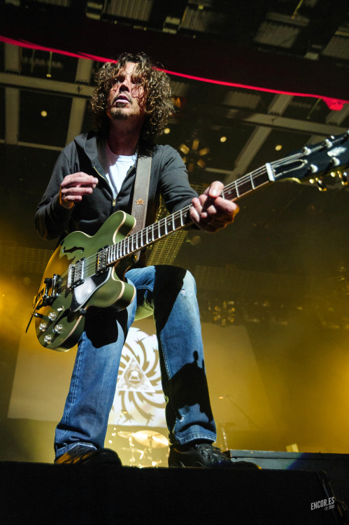 Preview: Chris Cornell of Soundgarden at The Pageant, 5.21.2013  If I didn't know better, I'd think Chris Cornell was mugging for the camera.  No complaints from me, obviously. More photos and thoughts to come.