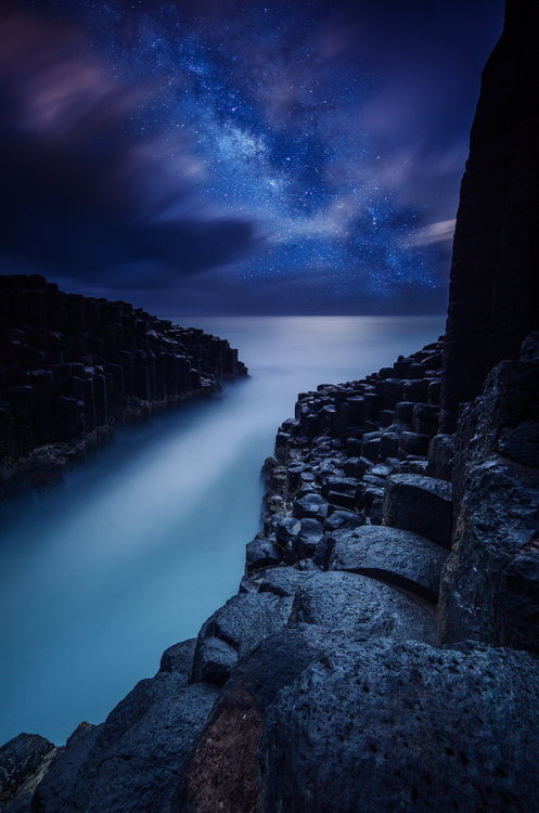 vurtual:  Fingal Head (by Byron Prukston)