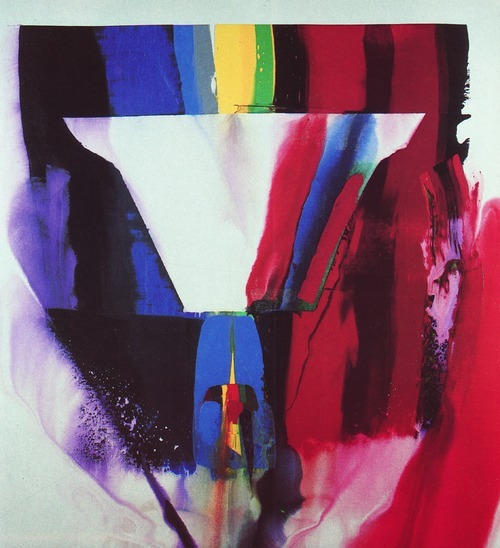 eightiesart:  PAUL JENKINS