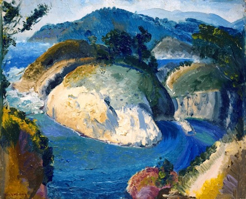 bofransson:  California Headlands (1917) – George Bellows