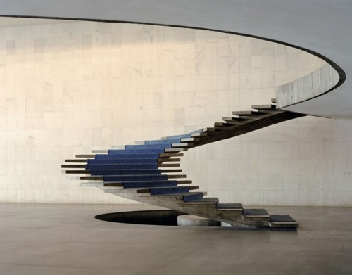 modernizing:  Itamaraty Palace by Oscar Niemeyer.