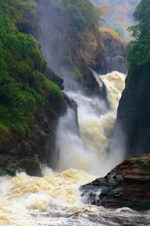 wandering-through-nature:  ecocides: Murchinson Falls | image by MichaelTrezzi