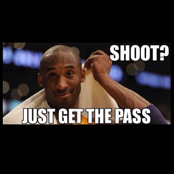 21pts,14ast,9reb  #Lakers #Kobe #Mamba #LakeShow #LakerNation #LakerGang