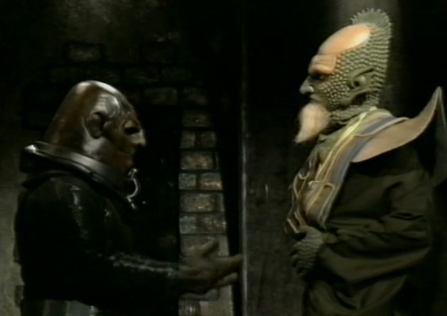So a Sontaran and a Draconian walk into a dungeon…