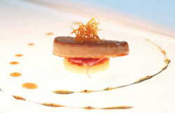 Foie Gras And Apple 2 by CristalArt on Flickr.