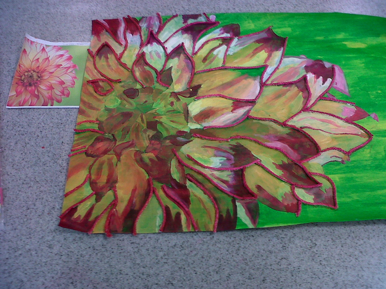 dreamyyreemiiee:  I produced this artwork in my final GCSE Art exam! :D (10 hours + 3 hours extra time based on medical grounds)    Artist in the making…:)