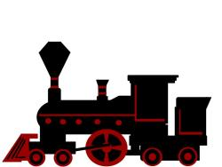 steam engine. drawing brendan garbee