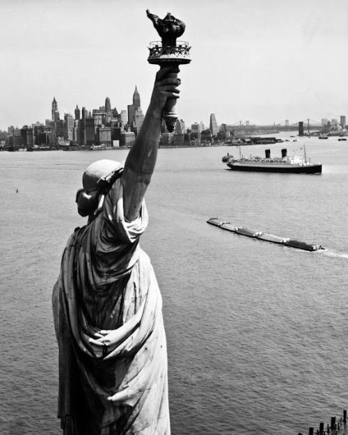 Statue of Liberty and Upper New York Bay