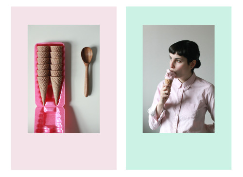 aysiastieb:  Ice Cream #1, Maya Ragazzo, Baltimore, March 2013