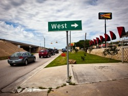 shortformblog:  nbcnews:  First person: West, my home town, is gone (Photo: Erin Trieb for NBC News) I learned the news about the explosion in West, Texas, the way you seem to learn everything these days - on Twitter, and then Facebook. I was actually in the middle of telling someone about West. It's where I grew up and lived until I was 20. Read more from NBC News Contributing Writer Zac Crain.  A stirring and emotional first-person reflection on the explosion that rocked West, Texas last week, overshadowed somewhat as it was by the Boston bombing and subsequent manhunt. It's difficult to imagine finding out about something like this happening to your town and your neighbors on Twitter. Hard to fathom.