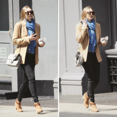 Elizabeth Olsen out in SoHo (Apr. 15)