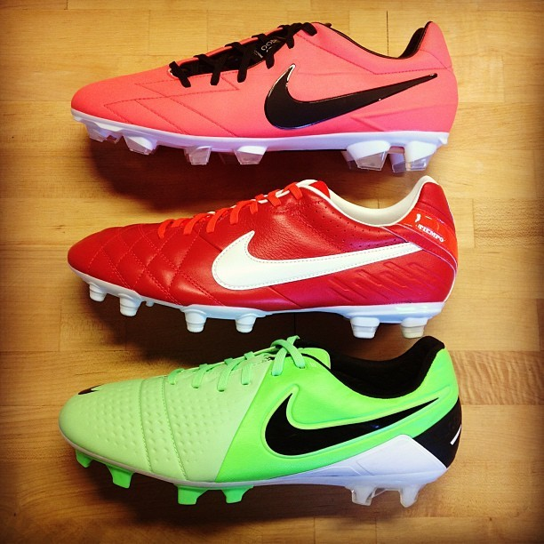 New Nike Soccer Cleat Colors!