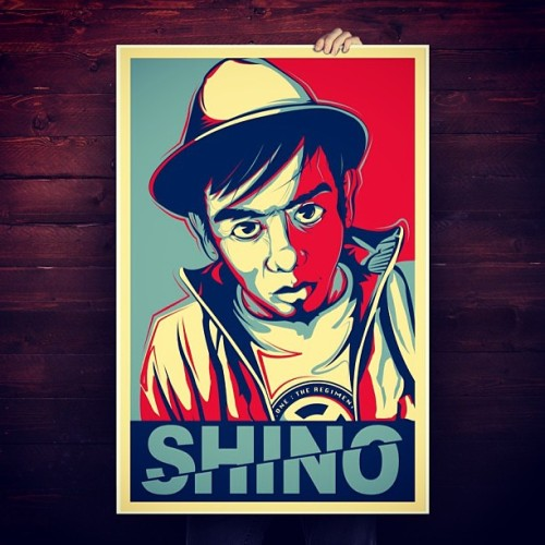 OBEY inspired. Final illustration for a local rap artist Shino from D XS.One Family. Much thanks to Pendekar Aka DoggFace for d opportunity. #purelibre #libre #shino #singapore #xs #xsone #illustration #obey #shepardfairey #digital #poster #hiphop #rap