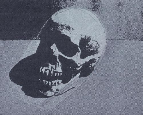 sicksin:  skull by Andy Warhol, 1982