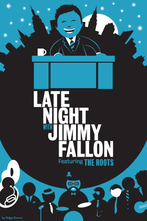 latenightjimmy:     Check out this AWESOME fan art courtesy of Ridge Rooms!      Whoa, is this really happening ….??? Pinch me. Thanks, LNJF!!! :D