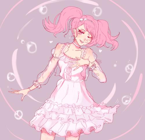 bandori bang dream aya maruyama pastel palettes pastel my art fanart illustration artists on tumblr digital art art anime pink