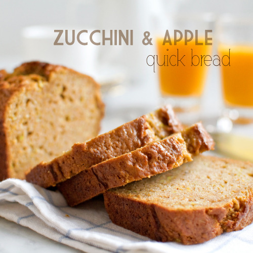 bakeddd:  zucchini apple quick bread click here for recipe