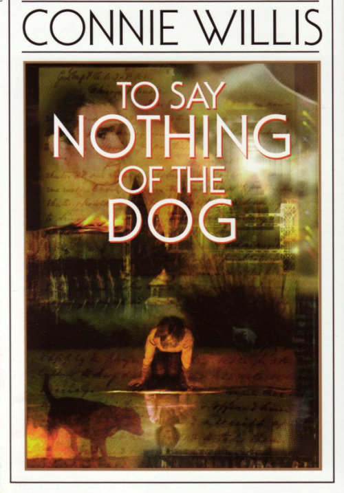 meganwest:  leahclaire:  wallmakers:  To Say Nothing of the Dog by Connie Willis So I was loaned this book by someone with, apparently, the exact same taste in books as me (I mean, not really, but his is SUPER CLOSE). Because, okay, it's sci fi—time travel sci fi—by a British lady, and it's basically… a P. G. Wodehouse novel. Except with an unbelievably good plot. Like. Even if it was terrible, jesus christ, what a fucking gorgeous concept. And it wasn't terrible! It was AMAZING! I can't believe I hadn't ever read it before—it was very Diana Wynne Jones-y; seriously, she almost could have written it.   I love this book a whole lot.  Number 1 recommendation when people ask for new readables.