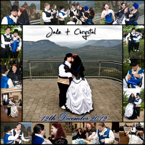 Sample of Jake & Chrystal's Wedding (CD Cover) Katoomba, 12th December 2012