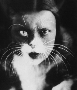 Wanda Wulz, Cat and I, 1932