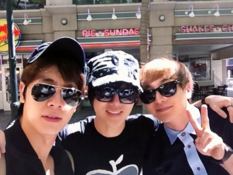 alwayswithteuk:  [120522] Yesung Twitter Update with TeukHae  Teuk Dong Ye ^^ Going to Korea now~~!!