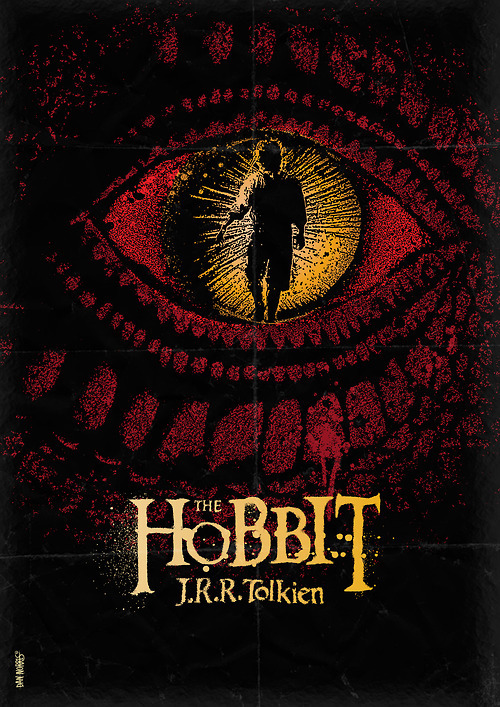 minimalmovieposters:  The Hobbit by Daniel Norris