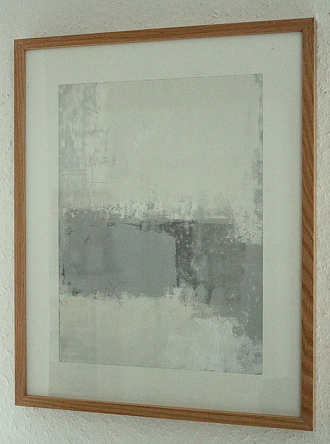 tiefgang:  Bild_908_different grey_30_40_cm_mix_media_paper_2013_wall by ART_HETART on Flickr.