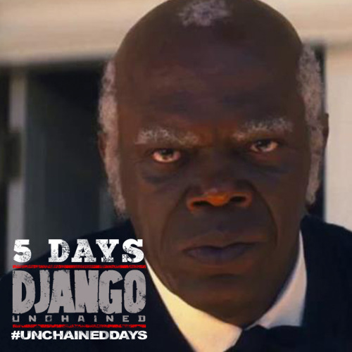 ‎5 Unchained Days: Stephen (Samuel L. Jackson)Calvin Candie's right hand man doesn't take kindly to the arrival of Django and Schultz at Candyland.