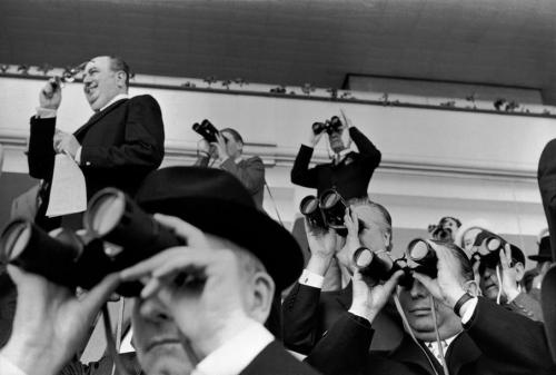 Longchamp Racecourse, Paris 1969 by Henri Cartier-Bresson