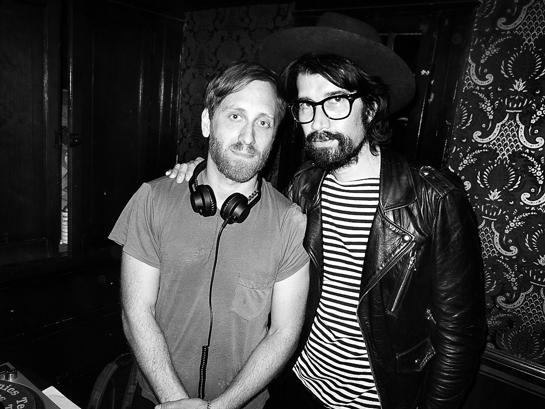 Dan Auerbach & Myles Hendrik at The Black Keys' Grammy party… I had an incredible time partying with The Black Keys Sunday night.