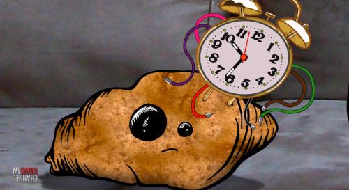 A rock. A potato. A time machine.  If you need more than that, you're just greedy.  Watch The Adventures of Humphrey and Spud.