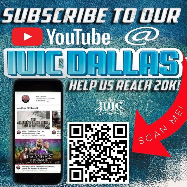 Shalom! Follow us on #SocialMedia and #Subscribe to our #Youtube channel! #IUICDALLAS! Help us reach 20k #Youtube Subscribers! 🔥🔥🔥 #IUIC #DTX #DDD #DALLAS #FORTWORTH #DFW https://youtube.com/c/IUICDALLAS https://www.instagram.com/p/CUX-AcqgzhG/?utm_medium=tumblr #socialmedia#subscribe#youtube#iuicdallas#iuic#dtx#ddd#dallas#fortworth#dfw