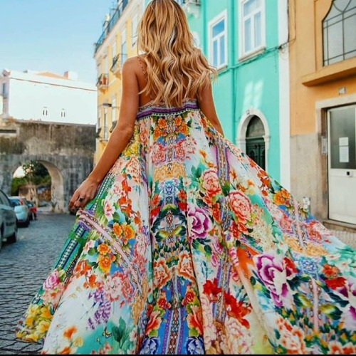 💖Santorini Chic Printed Bohemian Maxi Dress💖Shop This Look Online🌸Link In Bio🌸💖#designer #forever21 #nickiminaj #kimkardashian #rihanna #cardib #fentybeauty #clothing #makeup #sale #kamishade #ootd #stylist #fashionstylist #pretty #selfie #makeup...