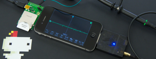 Get hacking with the portable, iOS-powered iMSO-104 oscilloscope — the first app-enabled portable mixed signal scope built for the everyday maker. Designed by Oscium Find it at Grand St.