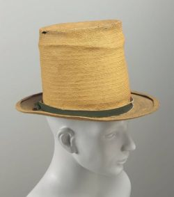Hat from the MFA's collection in Boston