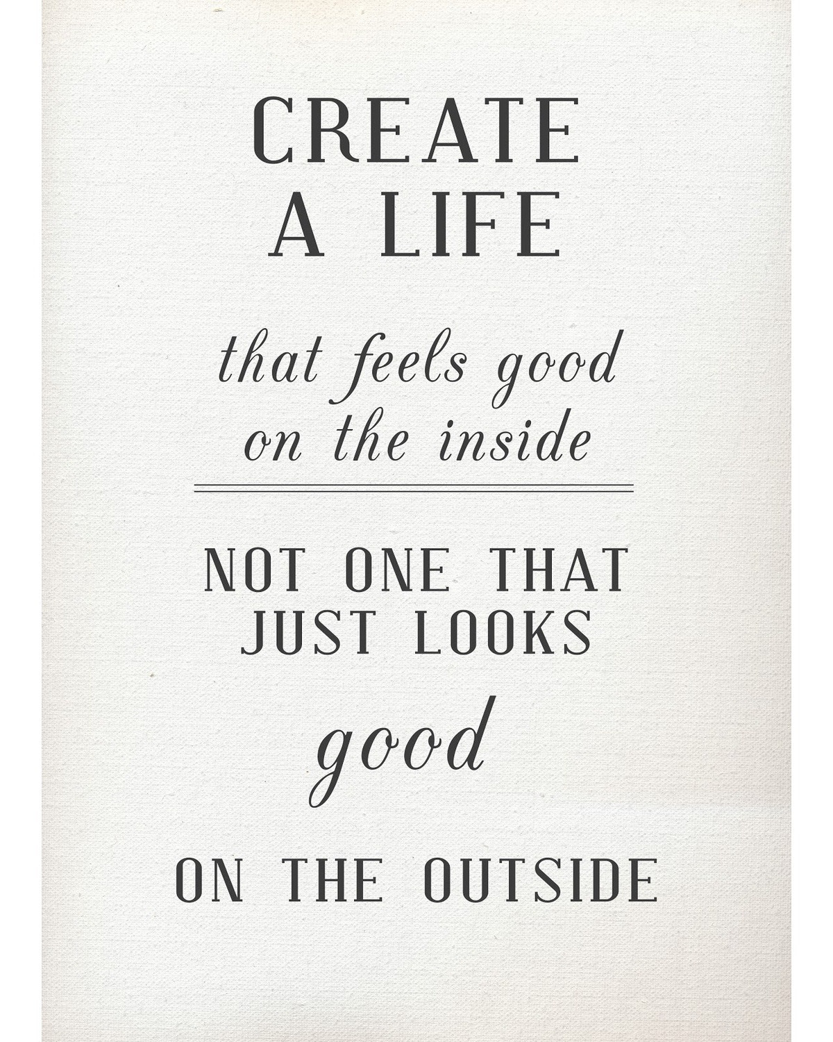 thepreppyyogini:  Create your life.